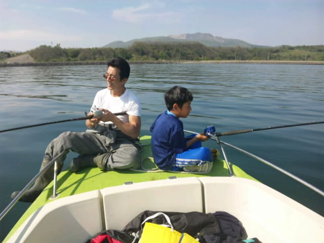 のんびりマガレイ釣り